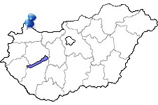 Mosonmagyaróvár in Ungarn