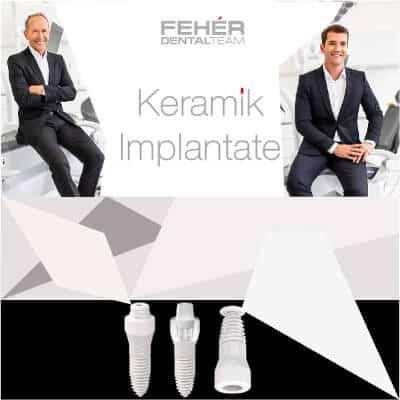 Keramik Implantate Feher