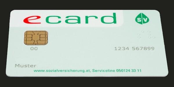 Krankenkasse E Card Österreich Muster