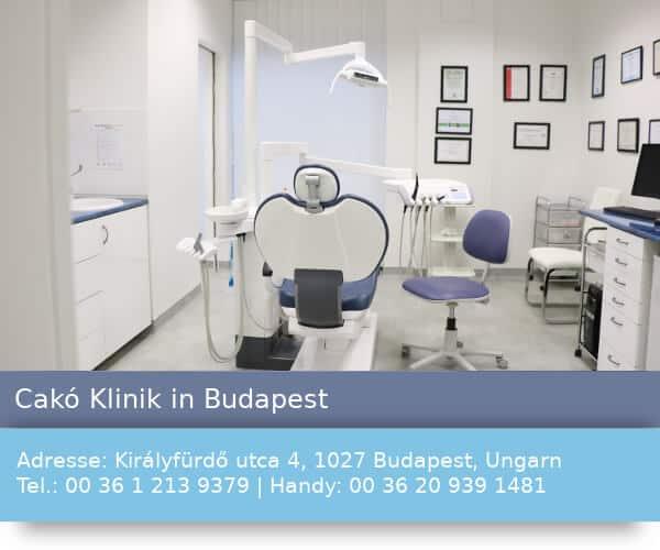 Cakó Klinik in Budapest